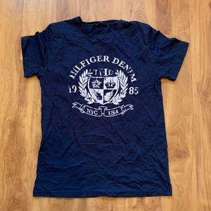 Navy Blue Tommy Hilfiger Denim T-Shirt